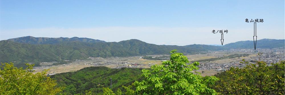 八木城跡(京都府南丹市)