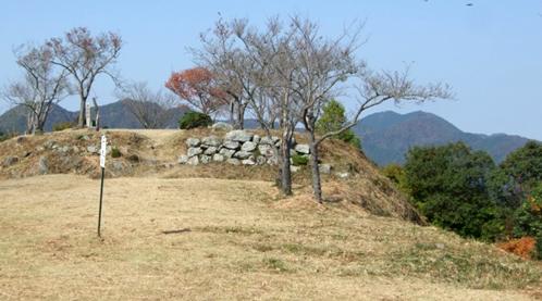 黒井城跡(兵庫県丹波市)
